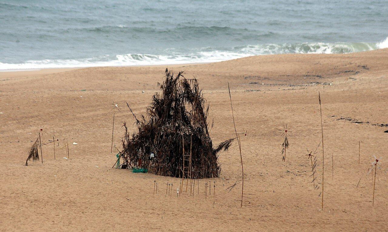 Назаре. Северный пляж (Praia do Norte)