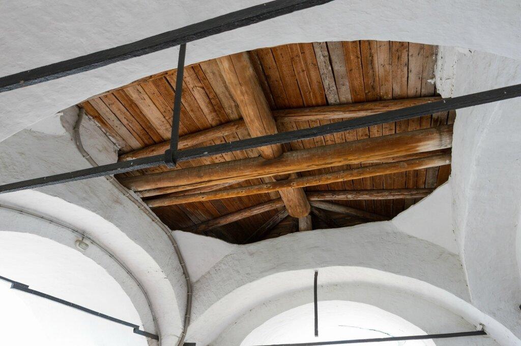 Потолок в звоннице, Спасо-Преображенский монастырь,