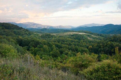 Балканы, пейзаж возле горы Клъшка Чукара