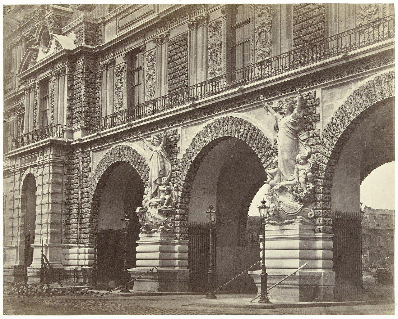 1865. Лувр. Внешний вид