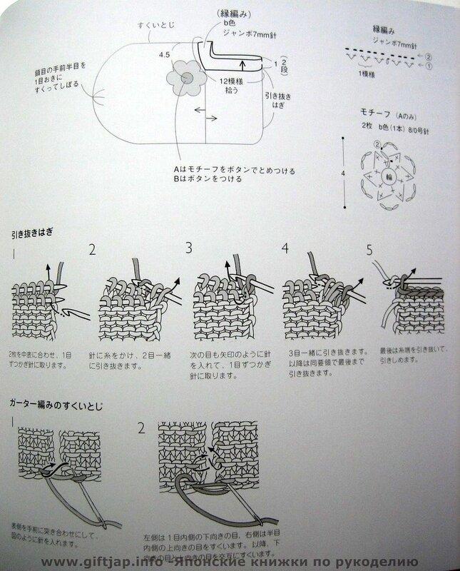 для души, вязание домашних аксессуаров