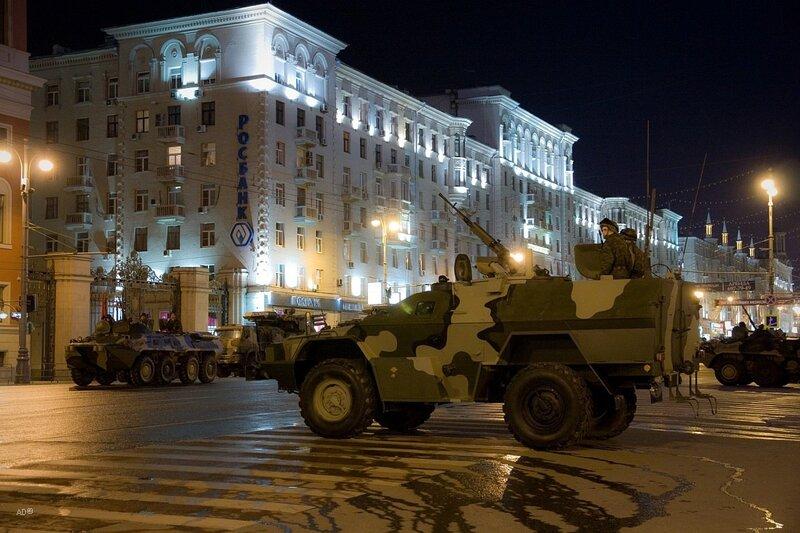 Репетиция военного парада 2010