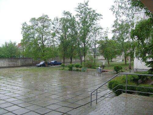После дождя.