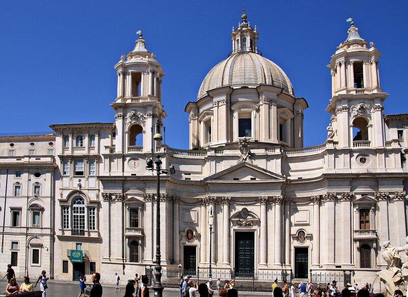 Церковь Сант-Аньезе-ин-Агоне