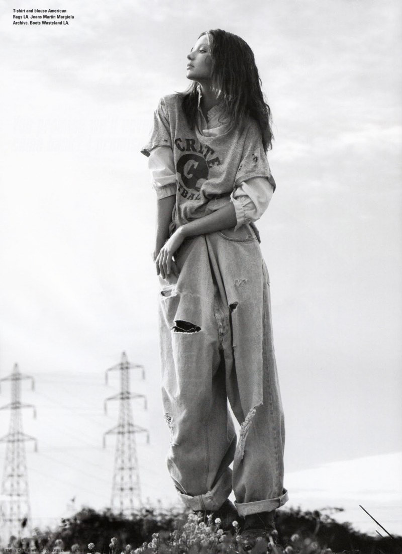 эротика фотомодель фотографы модели мода fashion story fashion  Miranda Kerr by Willy Vanderperre for i D Magazine