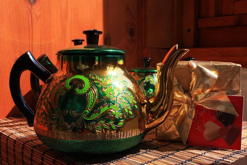 Кофейно-чайный натюрморт