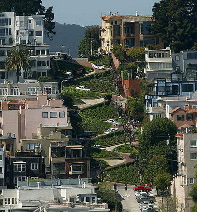 Street – самая вьющаяся улица америки