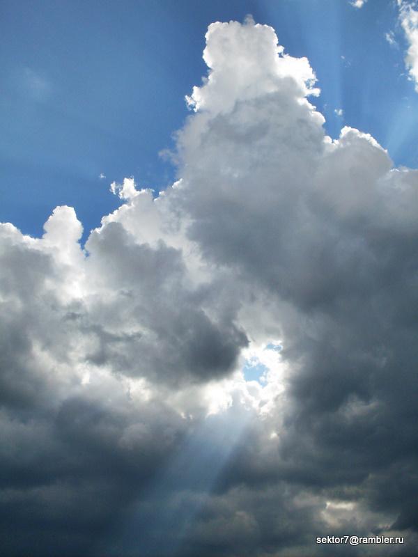 Небо перед грозой