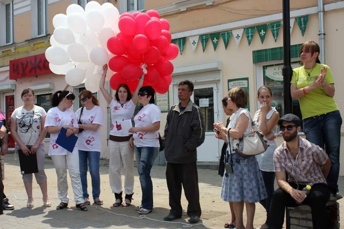 Владивосток,акция против абортов