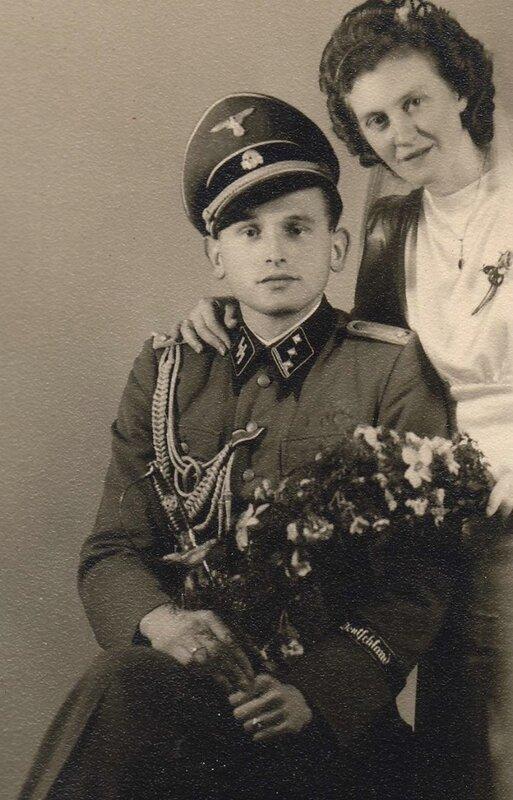 SS-Obersturmführer Jakob Halbgewachs,май 1940
