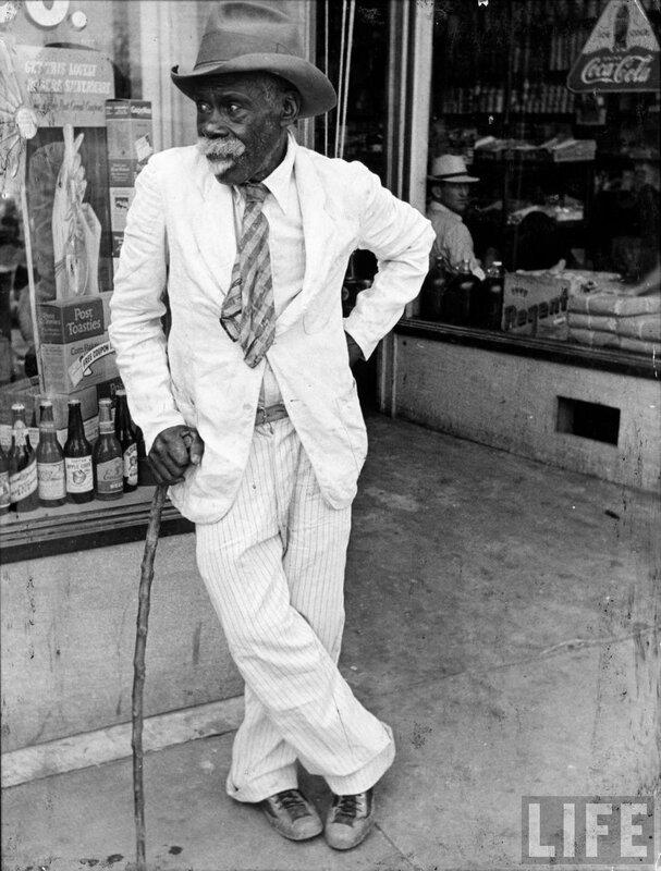 Old African-American Man,фото Alfred Eisenstaedt