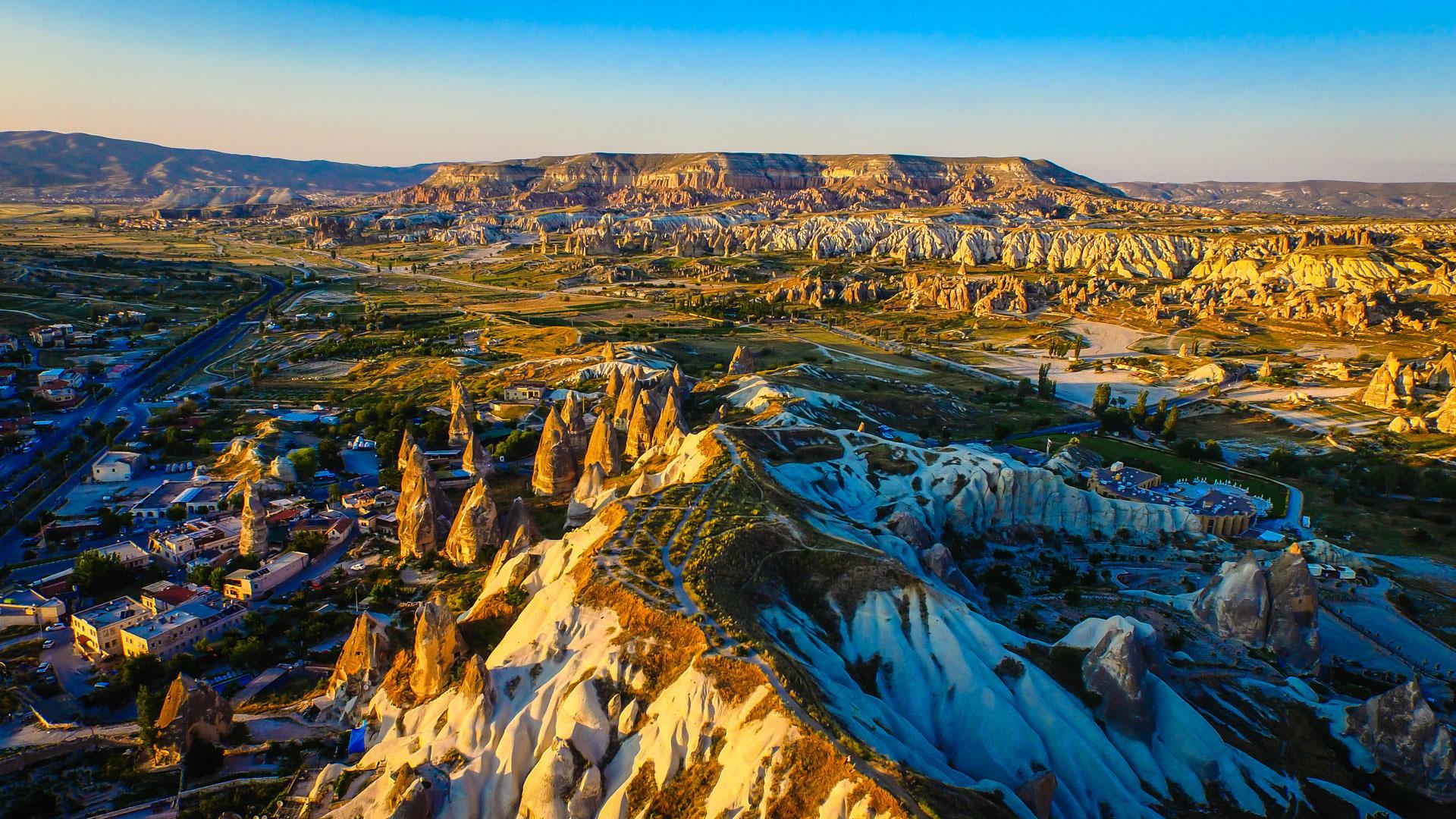 Топ-20 самых красивых фотографий снятых дроном