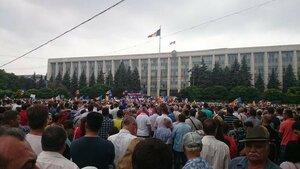 Вся страна смотрит на Кишинёв - антиправительственные митинги