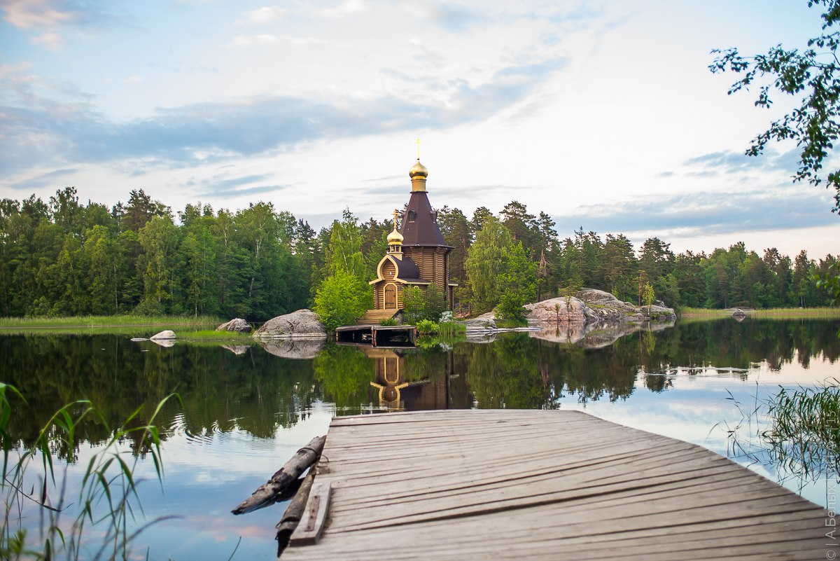 Церковь Андрея Первозваного на Вуоксе