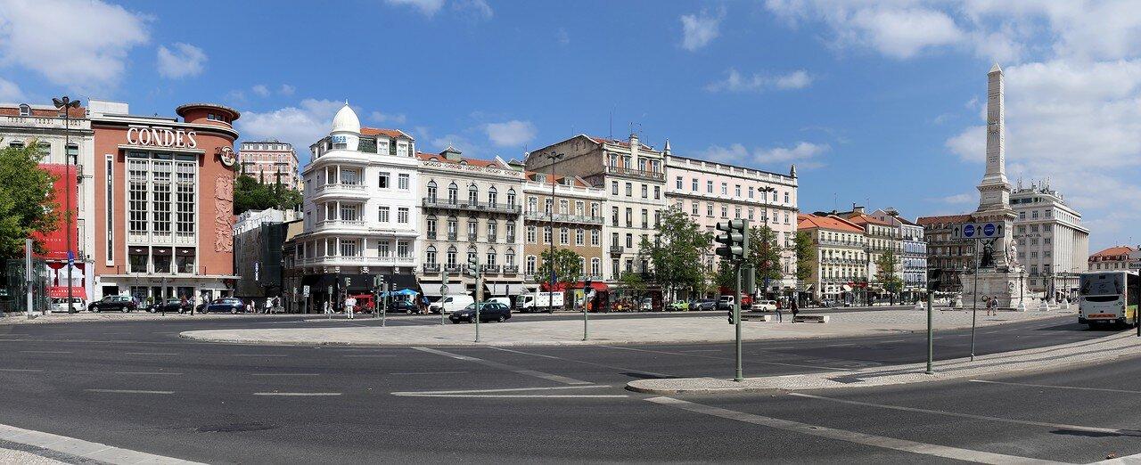 Лиссабон. Площадь Рестаурадориш (Praça dos Restauradores)