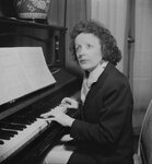 Edith Piaf (1915-1963), French singer. France