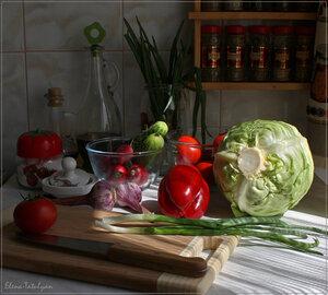 Овощной хаос