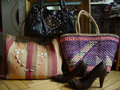плетёные сумки, Мск