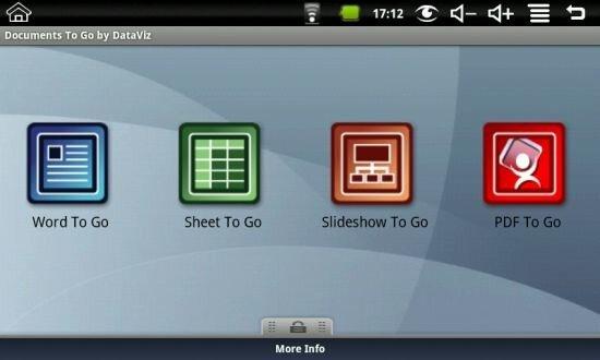 Программный пакет для работы с офисными файлами