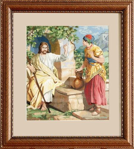 Иисус Христос с Самарянкой
