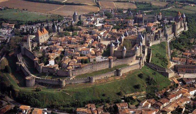 Города средневековья картинки
