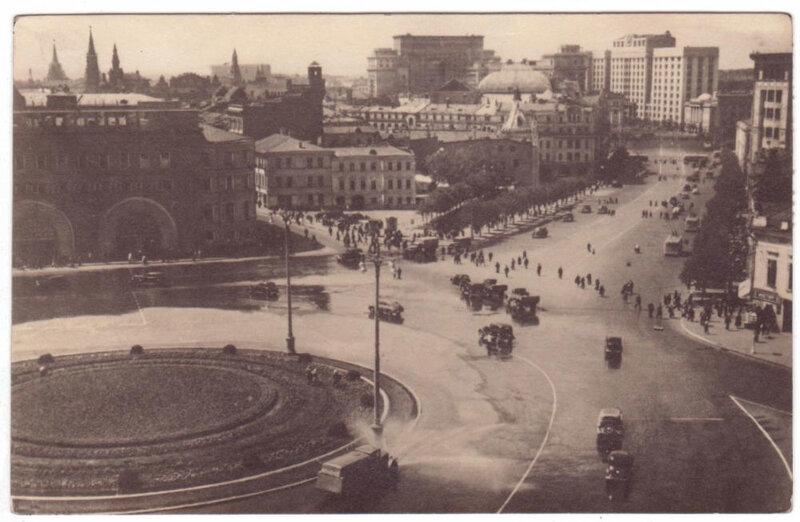 Лубянская площадь и Театральный проезд