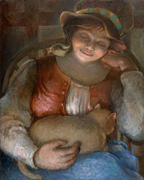 Кошки, дети и женщины в творчестве Сандры Бирман / Sandra Bierman