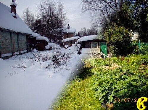 Зимой огород вспоминается
