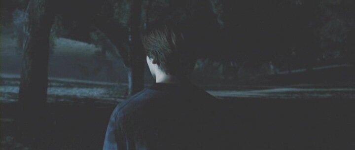 Он шел один в темноте кино