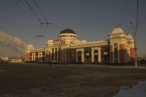 2010. А это уже новый вокзал, построенный на месте старого