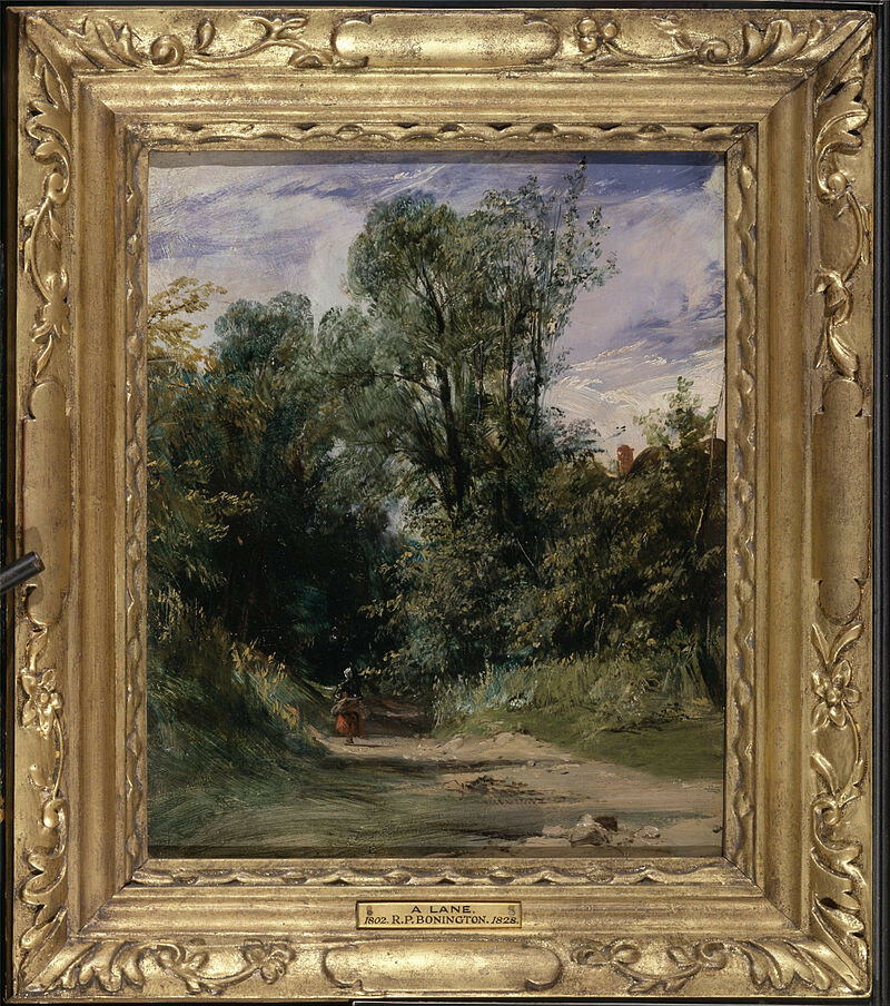 Richard_Parkes_Bonington_-_A_Wooded_Lane_-_Google_Art_Project ок 1825.jpg