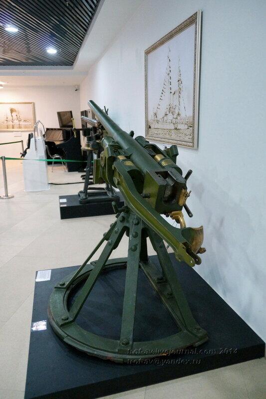 47-мм противоминная пушка системы Гочкиса, Центральный военно-морской музей, Санкт-Петербург