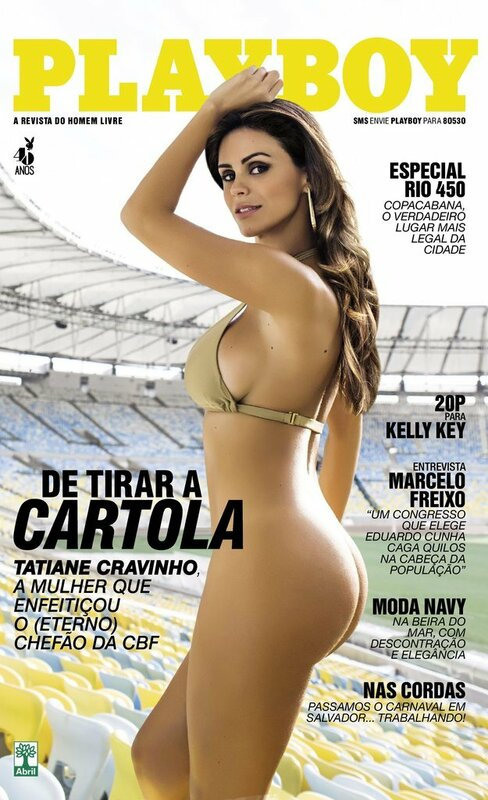 Tatiane Cunha Cravinho Playboy March 2015 Brazil