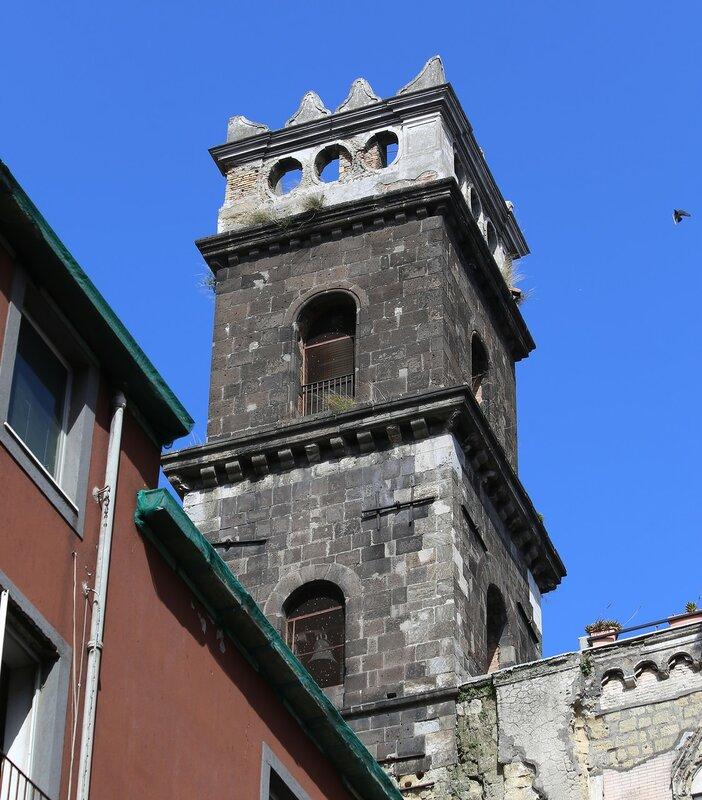 Naples. Church of San Eligio (Chiesa di Sant'eligio Maggiore)