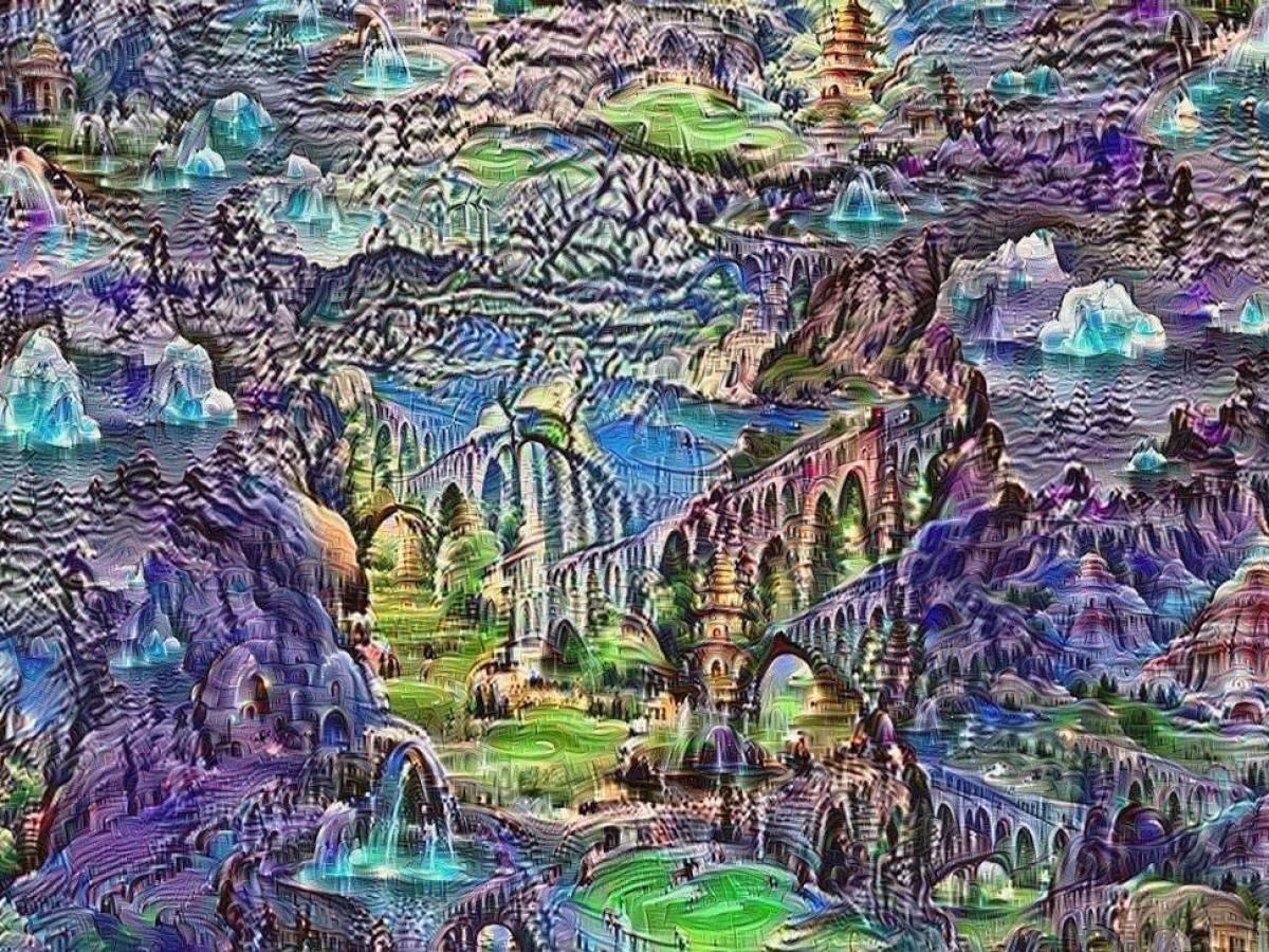 Исследователи Google говорят о таких случайно генерируемых изображениях как о «снах» искусственн