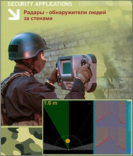 Россия представила радар, видящий сквозь стены