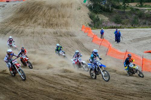 Соревнования по мотоциклетному спорту «Приполярный кросс – 2015»