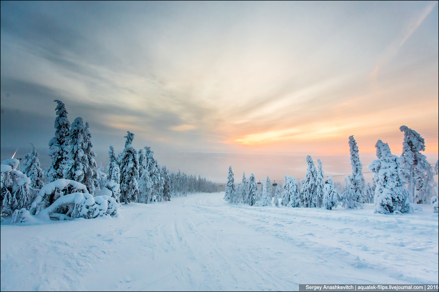 Зима в Лапландии / Winter in Lapland