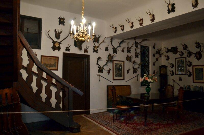 Охотничья гостиная замка Штернберг