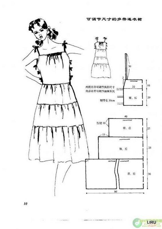 Платье марыся выкройка сшить самой 11