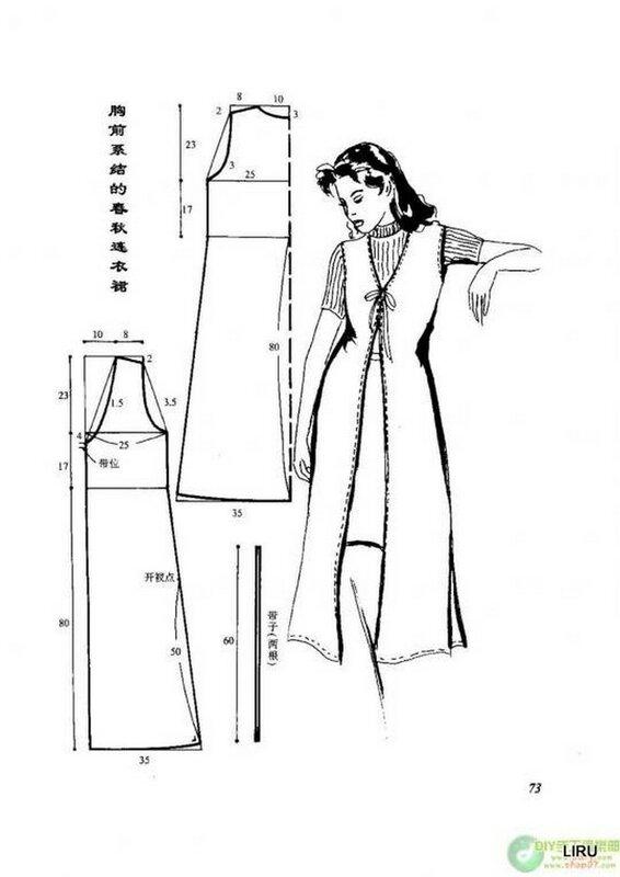Пошив летнего сарафана своими руками без выкройки