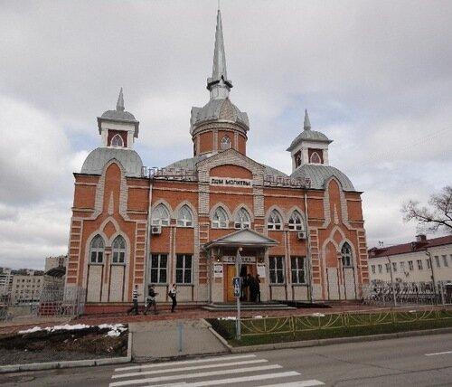 Центральная церковь Хабаровска