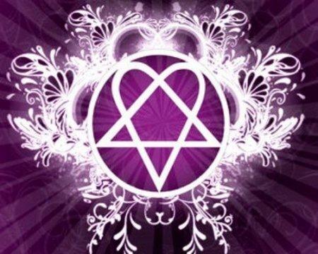 Символ группы HIM — Heartagram
