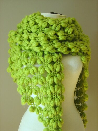 такие вот шарфы связанные