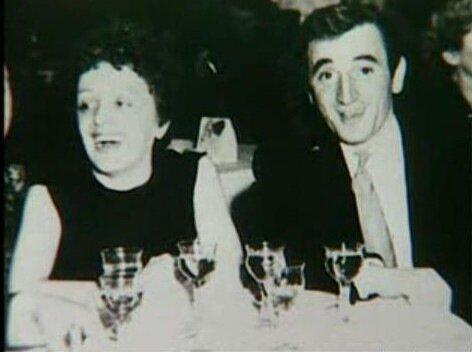Эдит Пиаф и Шарль Азнавур 1951