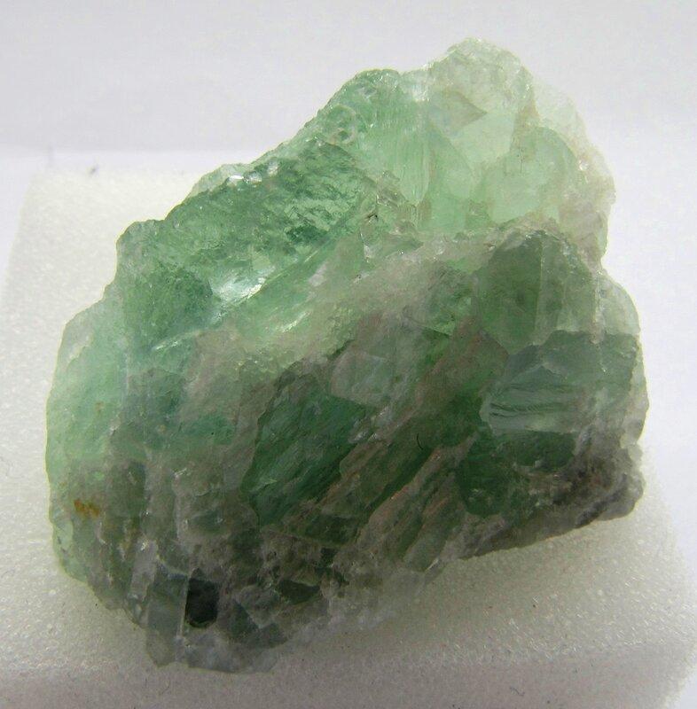 Минералы зелёного цвета