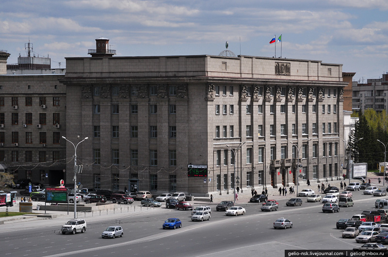 мэрия новосибирска фото