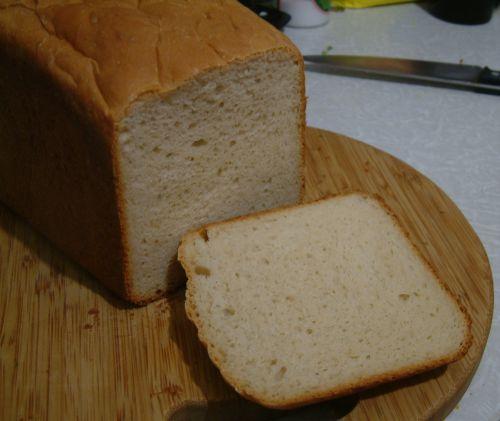 Хлеб пшеничный с картофелем и творогом формовой (духовка)