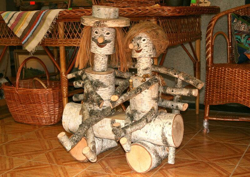 Деревянные фантазии для дачи своими руками 6