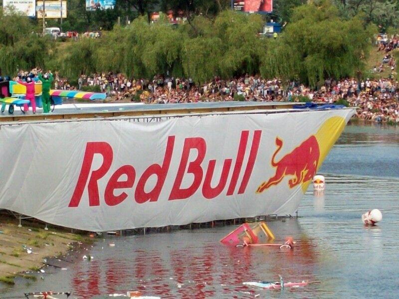 Red Bull Flugtag в Киеве